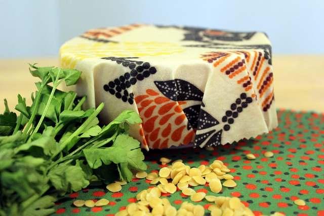 Wachstuch als Alternative zur Frischhaltefolie