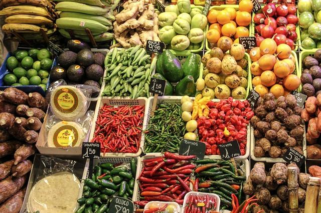 Obst und Gemüse unverpackt