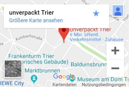 Karte unverpackt Trier